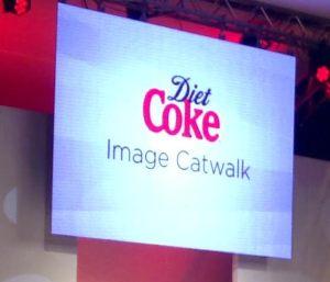 Diet Coke catwalk