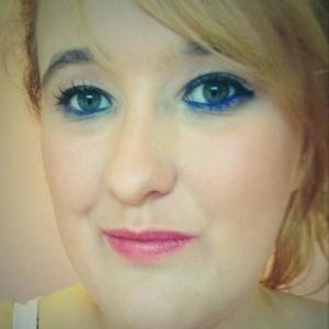 Face of the Day. feeling blue - Copy