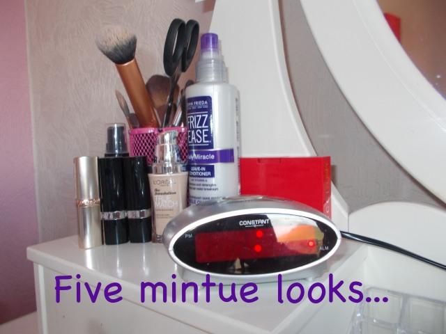 5 min looks